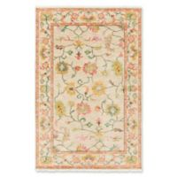 Surya Transcendent Hand-Knotted 9'3 x 13' Area Rug in Bright Pink