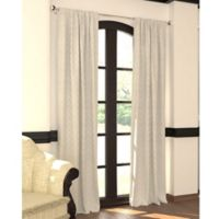 Designers' Select™ 63-Inch Emerson Rod Pocket/Back Tab Window Curtain Panel in White