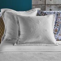 Frette At Home Malachite Standard Pillow Sham in White