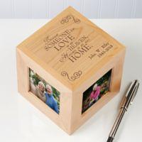 Someone We Love 4-Photo 2.5-Inch x 2.5-Inch Photo Cube
