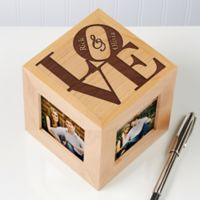 Our Love 4-Photo 2.5-Inch x 2.5-Inch Photo Cube