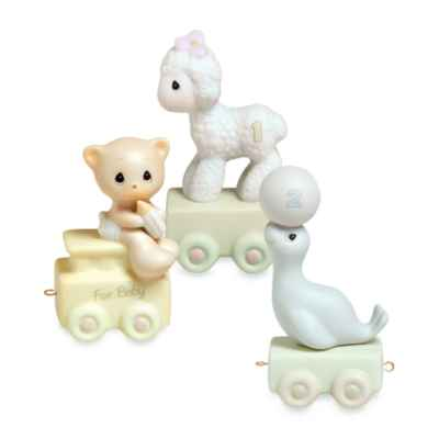 Precious Moments®  Birthday Train Porcelain Figurine