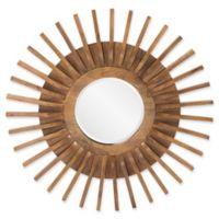 36-Inch Carver Round Mirror
