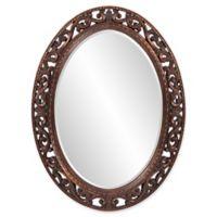 38-Inch x 28-Inch Suzanne Oval Mirror