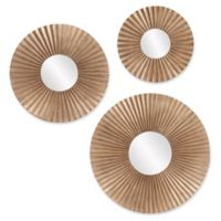 Howard Elliott® Collection Malinda Round Mirrors (Set of 3)