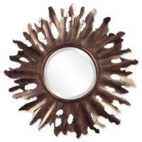 Howard Elliott® Collection 36-Inch Round Compass Starburst Mirror