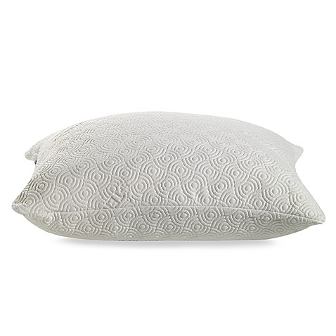 cloud cover pillow propped l tempur