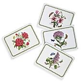 portmeirion botanic garden hardback placemats set of 4