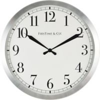 FirsTime® Soho Steel Round Wall Clock