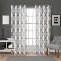 Essex 108-Inch Rod Pocket Room Darkening Window Curtain Panel Pair in White