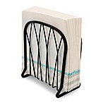 Spectrum Twist™ Metal Vertical Napkin Holder in Black