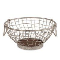 Spectrum™ Heritage Galvanized Metal Fruit Bowl