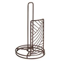 Spectrum Wright™ Metal Paper Towel Holder in Bronze