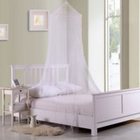 Casablanca Kids Galaxy Bed Canopy in White