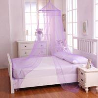 Casablanca Kids Galaxy Bed Canopy in Purple