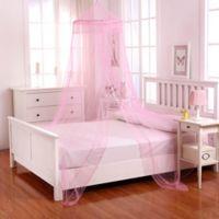 Casablanca Kids Galaxy Bed Canopy in Pink