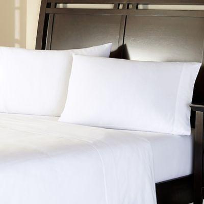 Brielle Linen King Sheet Set In White