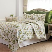 Anessa Reversible King Quilt in Green