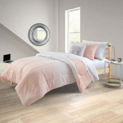 Equip Your Space Ombre Reversible Full/Full XL 8 Piece Comforter Set In Pink