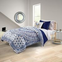 Beth 8-Piece Full/Full XL Comforter Set in Blue Multi