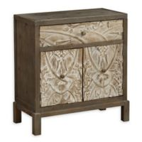Coast to Coast Imports Sharon Accent Table in Weathered Natural