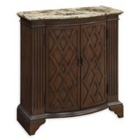 Coast to Coast Imports Amanda 2-Door Cabinet in Barrister Warm Brown