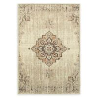 Oriental Weavers Pasha Center Medallion 9'10 x 12'10 Area Rug in Ivory