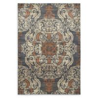 Oriental Weavers Pasha Woven 6'7 x 9'6 Area Rug in Blue