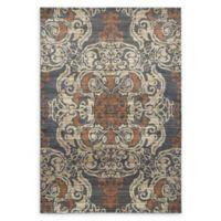 Oriental Weavers Pasha Woven 7'10 x 10'10 Area Rug in Blue