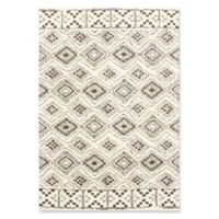 Oriental Weavers Verona Geometric Woven 7'10 x 10'10 Area Rug in Ivory