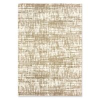 Oriental Weavers Verona Marbled Woven 2'3 x 7'6 Area Rug in Ivory/Taupe