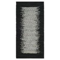Safavieh Vintage Leather 2' x 3' Logan Rug in Black