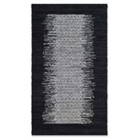 Safavieh Vintage Leather 3' x 5' Logan Rug in Black