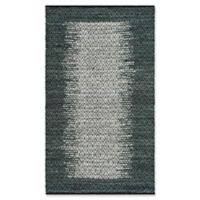 Safavieh Vintage Leather 4' x 6' Logan Rug in Charcoal