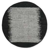 Safavieh Vintage Leather 6' x 6' Logan Rug in Black