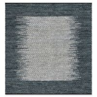 Safavieh Vintage Leather 6' x 6' Logan Rug in Charcoal