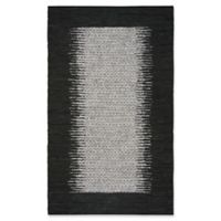 Safavieh Vintage Leather 6' x 9' Logan Rug in Black