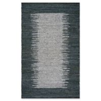 Safavieh Vintage Leather 6' x 9' Logan Rug in Charcoal