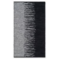 Safavieh Vintage Leather 3' x 5' Kinsey Rug in Black