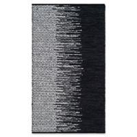 Safavieh Vintage Leather 3' x 5' Kinsey Rug in Black