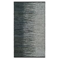 Safavieh Vintage Leather 4' x 6' Kinsey Rug in Charcoal