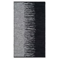 Safavieh Vintage Leather 4' x 6' Kinsey Rug in Black