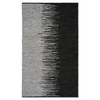 Safavieh Vintage Leather 6' x 9' Kinsey Rug in Black