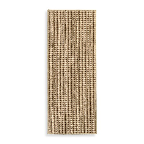 Berber Striped 1-Foot 8-Inch x 5-Foot Accent Rug in Biscuit