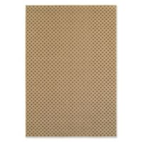 Oriental Weavers Santa Rosa Honeycomb Woven 5'3 x 7'6 Area Rug in Brown