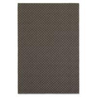 Oriental Weavers Santa Rosa Diamond 6'7 x 9'6 Indoor/Outdoor Area Rug in Grey