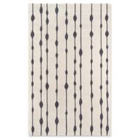 Momeni Delhi Hand-Tufted 3'6 x 5'6 Accent Rug in Grey
