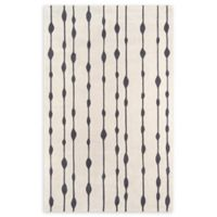 Momeni Delhi Hand-Tufted 5' x 8' Accent Rug in Grey