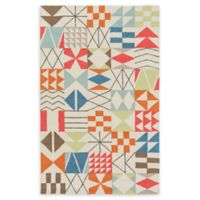 Surya Shiloh Geometric 8' x 10' Area Rug in Bright Orange