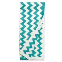 Amity Home Charlotte Throw Blanket in Teal
